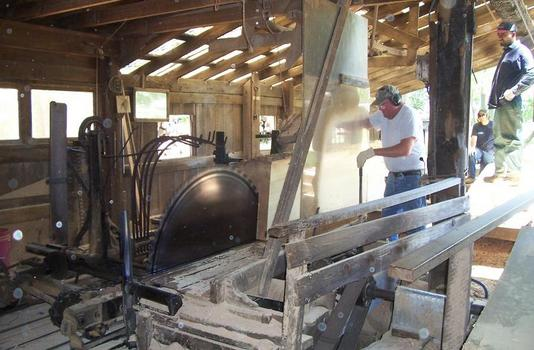 Harned Brothers Sawmill - Commack, NY